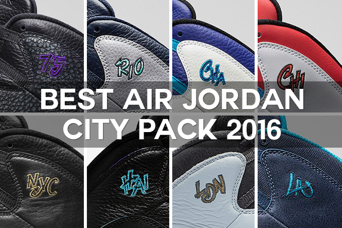 free shipping b5caf b5151 The Air Jordan 10 City Collection 2016 have ...