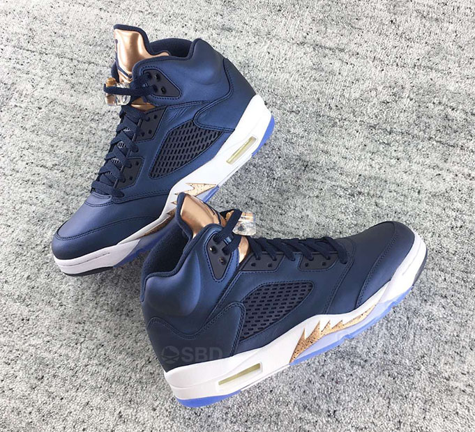 Bronze Air Jordan 5 Retro Release Date