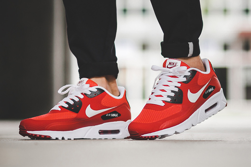 Nike Air Max 90 Ultra Essential Action Red - Sneaker Bar Detroit