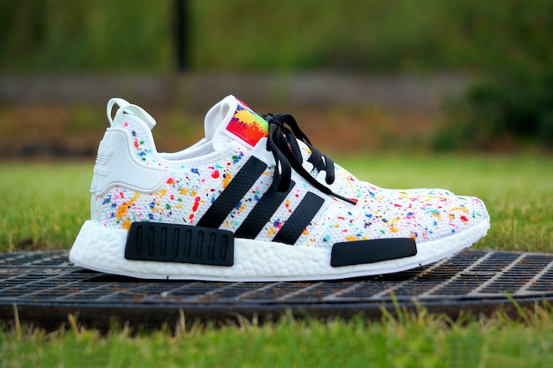 adidas NMD Multicolor Splash Custom