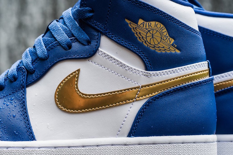 Air Jordan 1 Retro High Gold Medal Release Date - SBD c50b357eda01