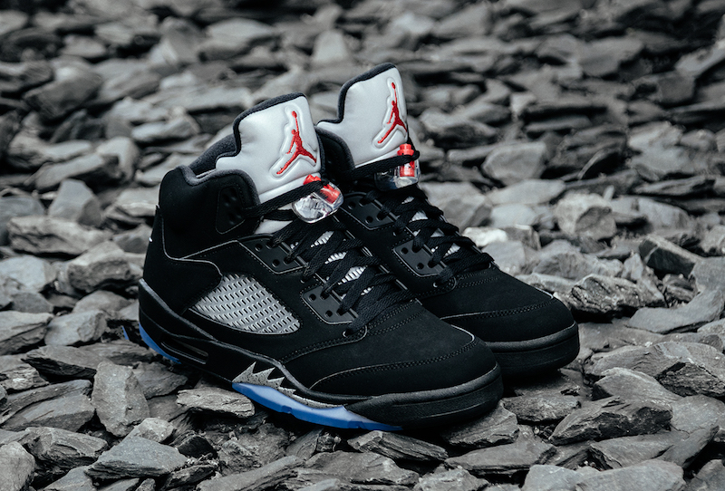 Air Jordan 5 Black Metallic Nike Air OG 2016 Retro