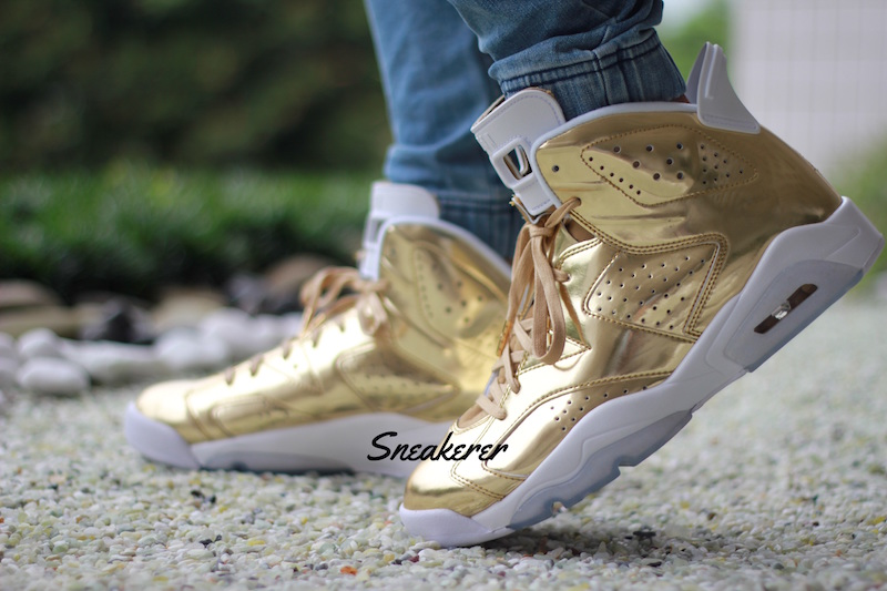 finest selection e27e2 0d12c Air Jordan 6 Pinnacle Metallic Gold Release Date - SBD