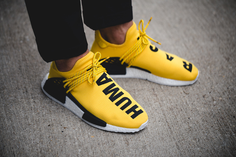 detailed look 96204 8c29b Pharrell adidas NMD Human Race Release Date - Sneaker Bar ...