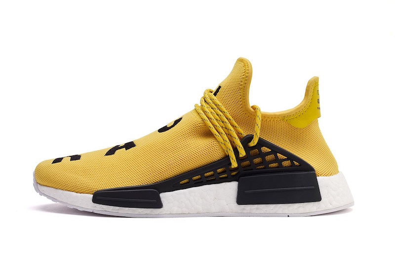 Pharrell Williams adidas NMD Human Race Yellow
