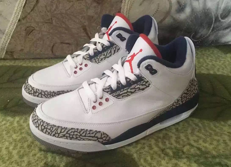 True Blue Jordan 3 Nike Air