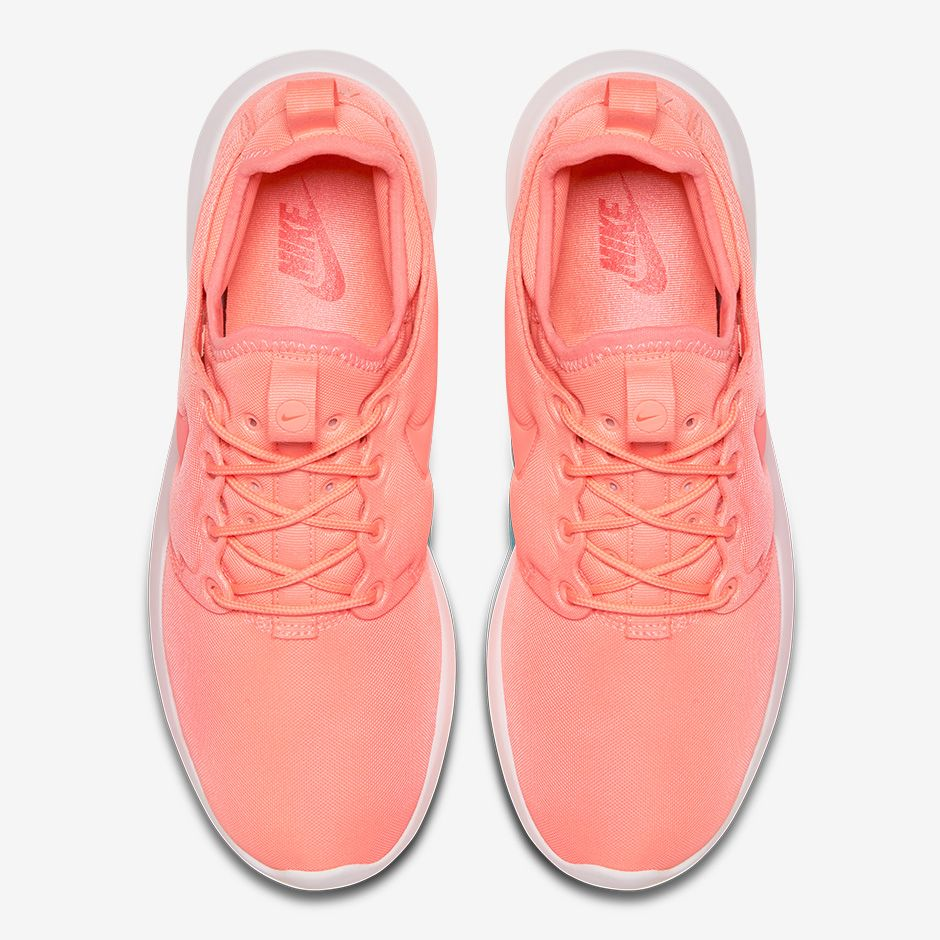 cb6df4f1248a coupon code for pink silver womens nike roshe two flyknit shoes ...
