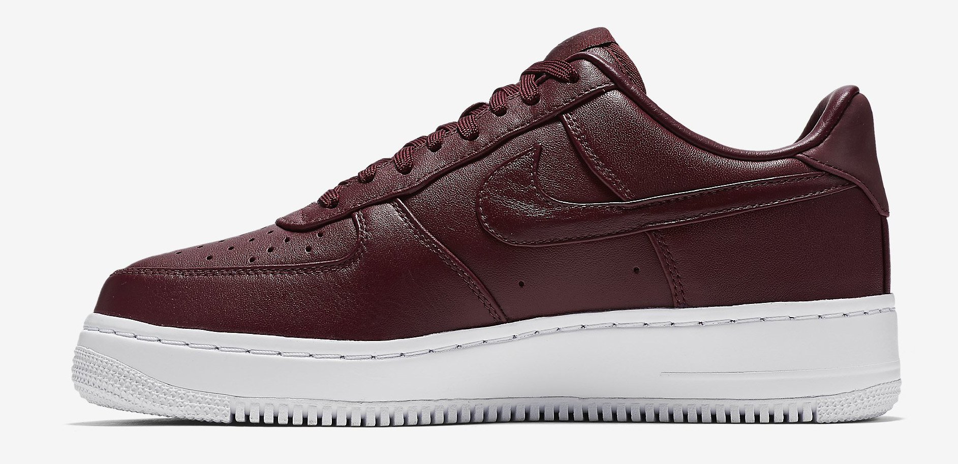 NikeLab Air Force 1 Low Blue Maroon