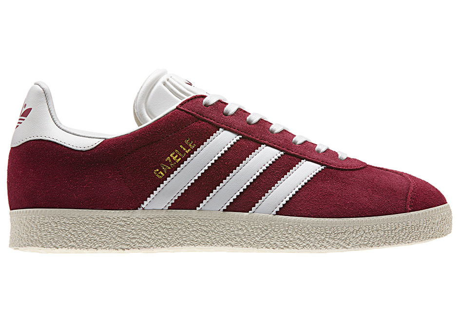 adidas Gazelle Suede Burgundy Core Blue