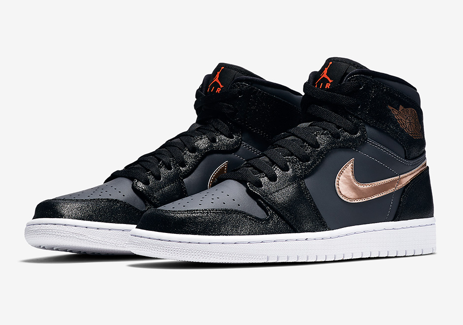 Air Jordan 1 Bronze Medal Sneaker Bar Detroit