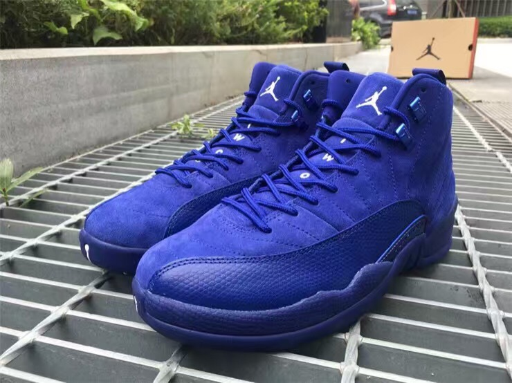 on sale eb4f9 52d10 Air Jordan 12 Premium Deep Royal Blue Release Date - SBD