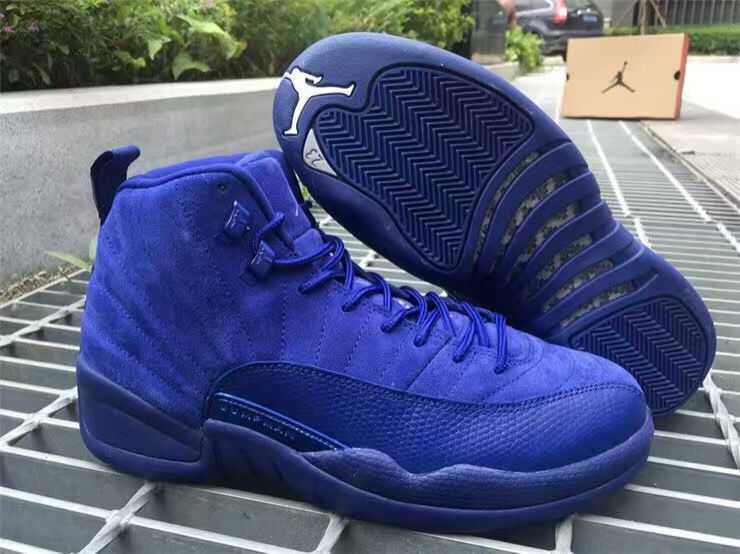 c1497fbaea43 Air Jordan 12 Premium Deep Royal Blue Release Date - SBD