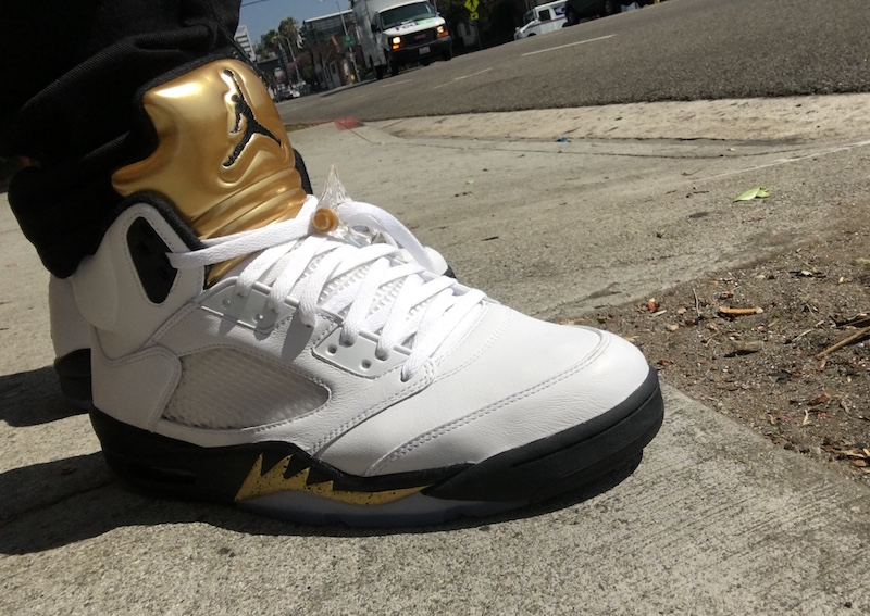 factory price c4c21 1a6d7 Gold Medal Air Jordan 5 Olympic