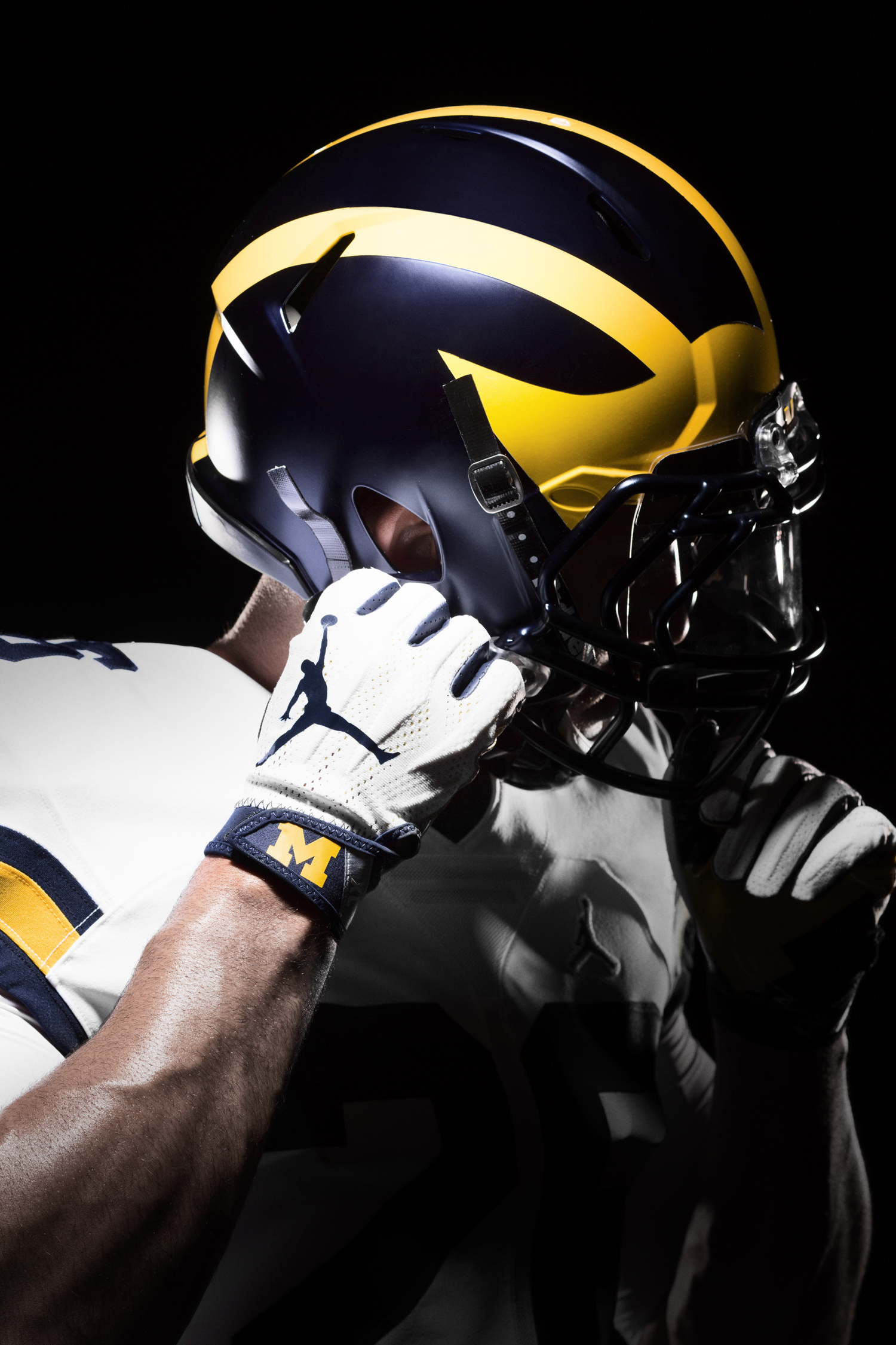 Michigan Air Jordan Football Uniforms