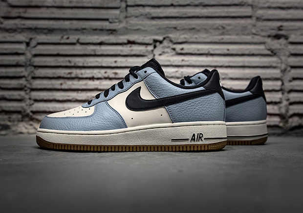 huge selection of c1455 bc221 Nike Air Force 1 Low Blue Cap