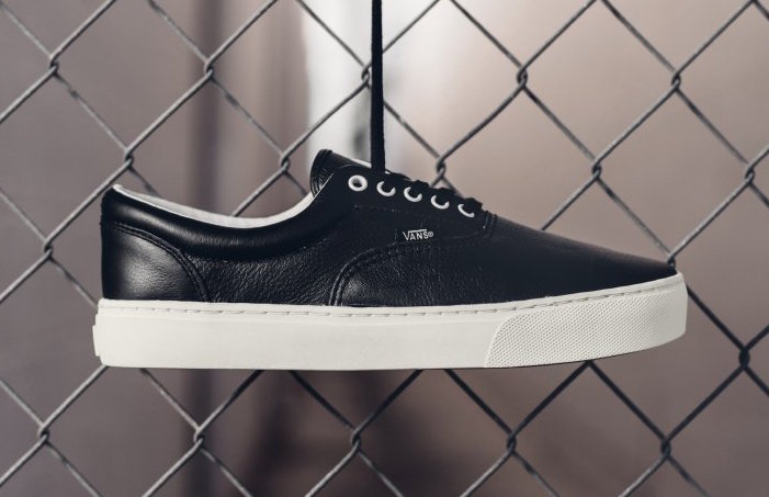 Vans Leather Era Cup Black