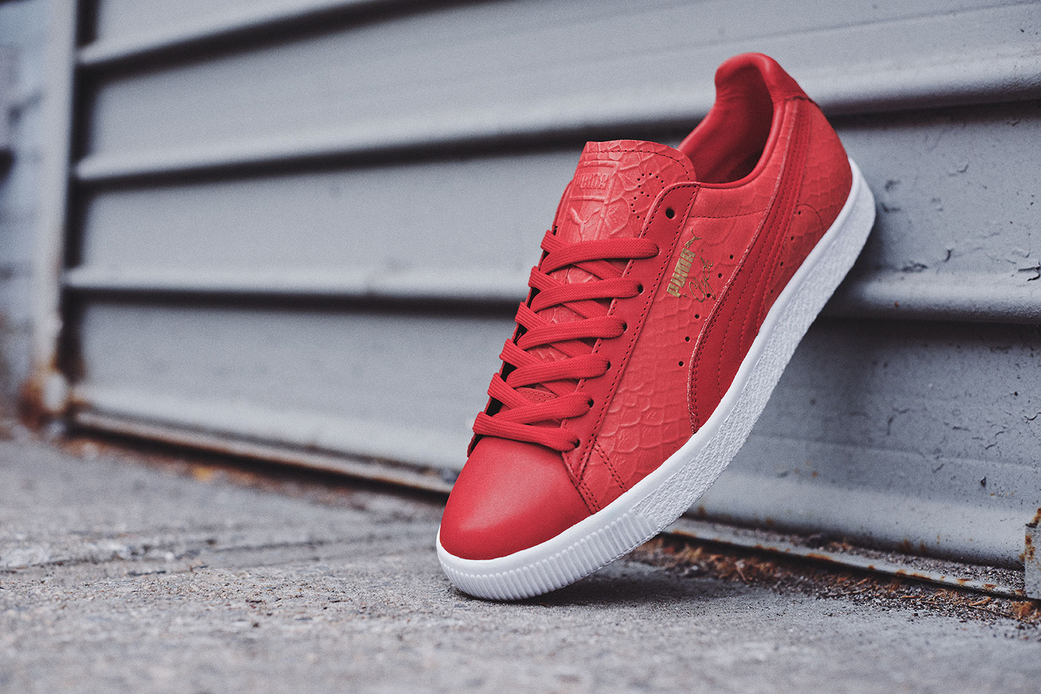 PUMA Clyde Dressed Pack Sneaker Bar Detroit