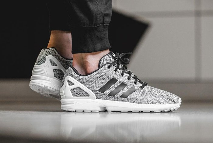 new style 80161 380e2 adidas ZX Flux Static Print - Sneaker Bar Detroit