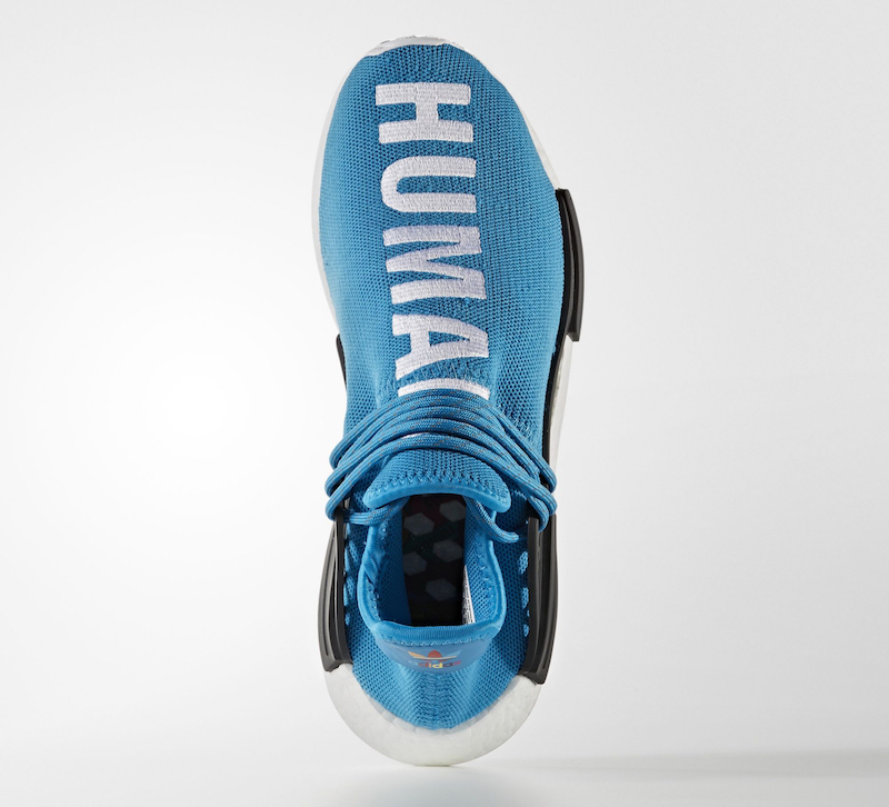 Pharrell Williams x adidas HU NMD Human Being Shale Blue