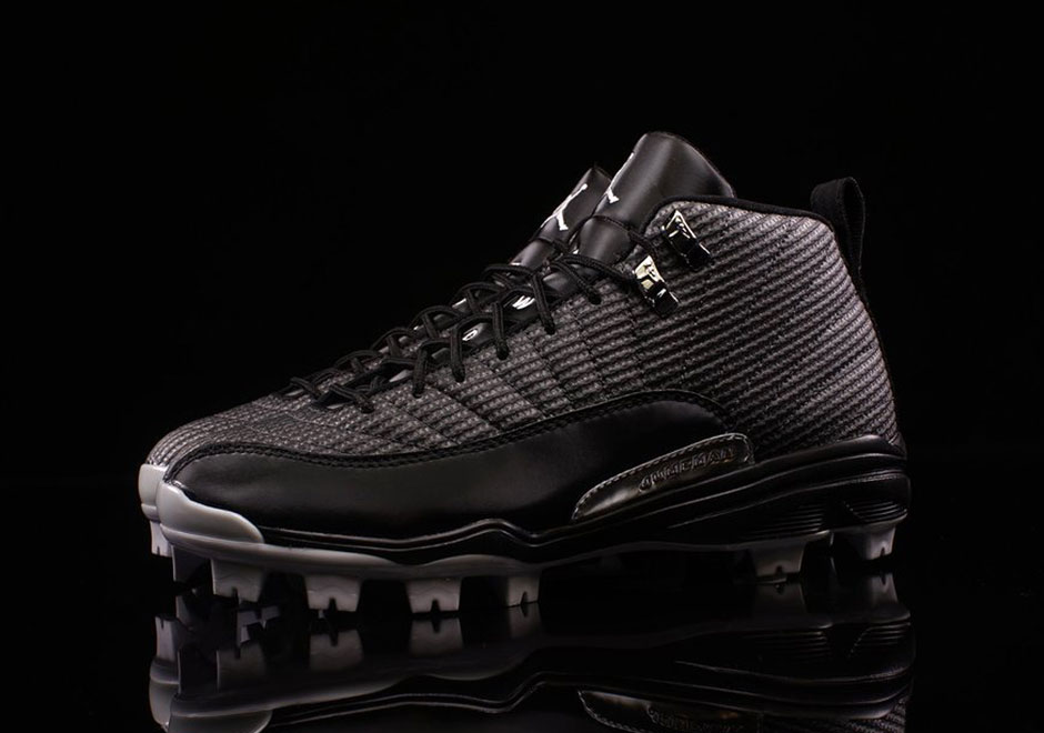 87b7450351bf Air Jordan 12 MCS Baseball Cleats 854566-010 - Sneaker Bar Detroit