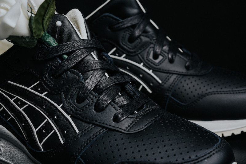 ASICS Gel Lyte III Tuxedo Black Leather