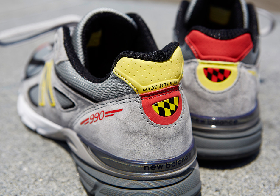 meet 098c8 d8353 DTLR x New Balance 990V4 DMV - Sneaker Bar Detroit