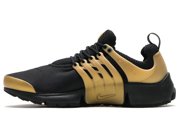 Nike Presto Air Max 90 Black Gold Pack