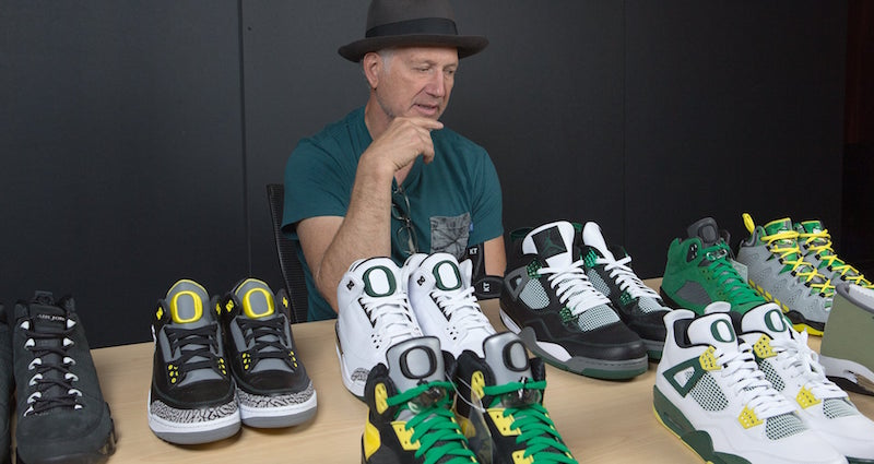 Oregon Ducks Air Jordan Collection