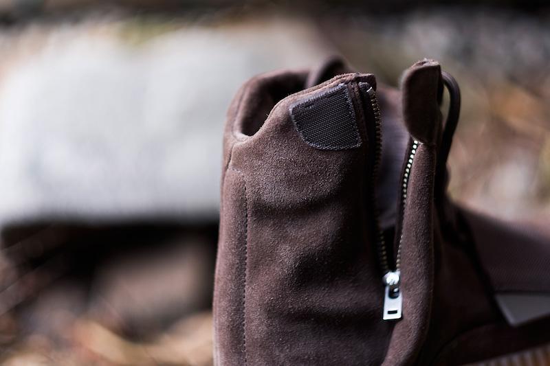 adidas Yeezy Boost 750 Chocolate Light Brown On Foot