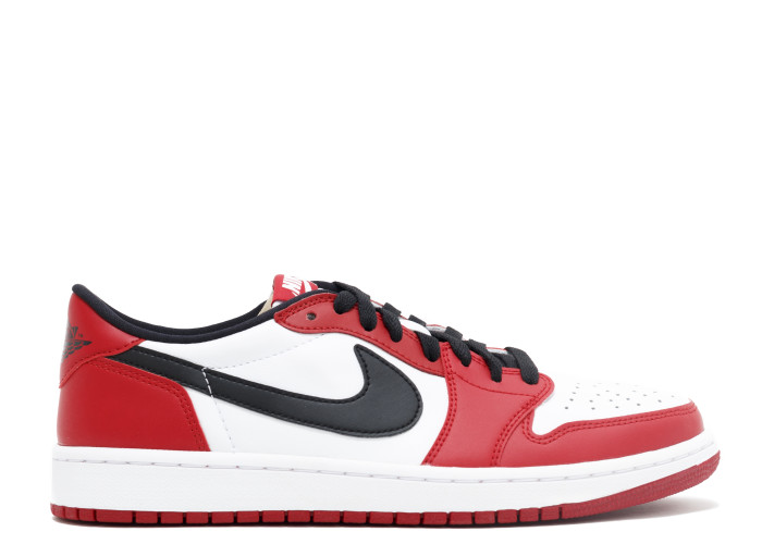 "9a7dee5adff Air Jordan 1 Retro Low OG ""Chicago"" Colorway  varsity red black-white.  Style Code  705329-600. Year of Release  2016. Retail Price   130.  Purchase  ebay"
