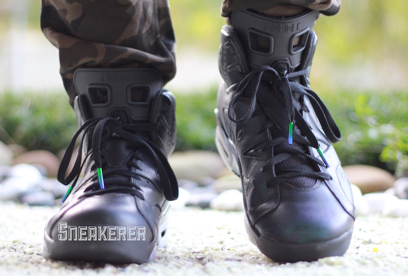 Air Jordan 6 Chameleon On-Feet