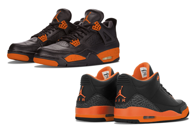 Air Jordan Halloween Pack Air Jordan 3 Air Jordan 4