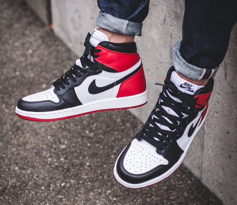 Black Toe Air Jordan 1 Release November 5th