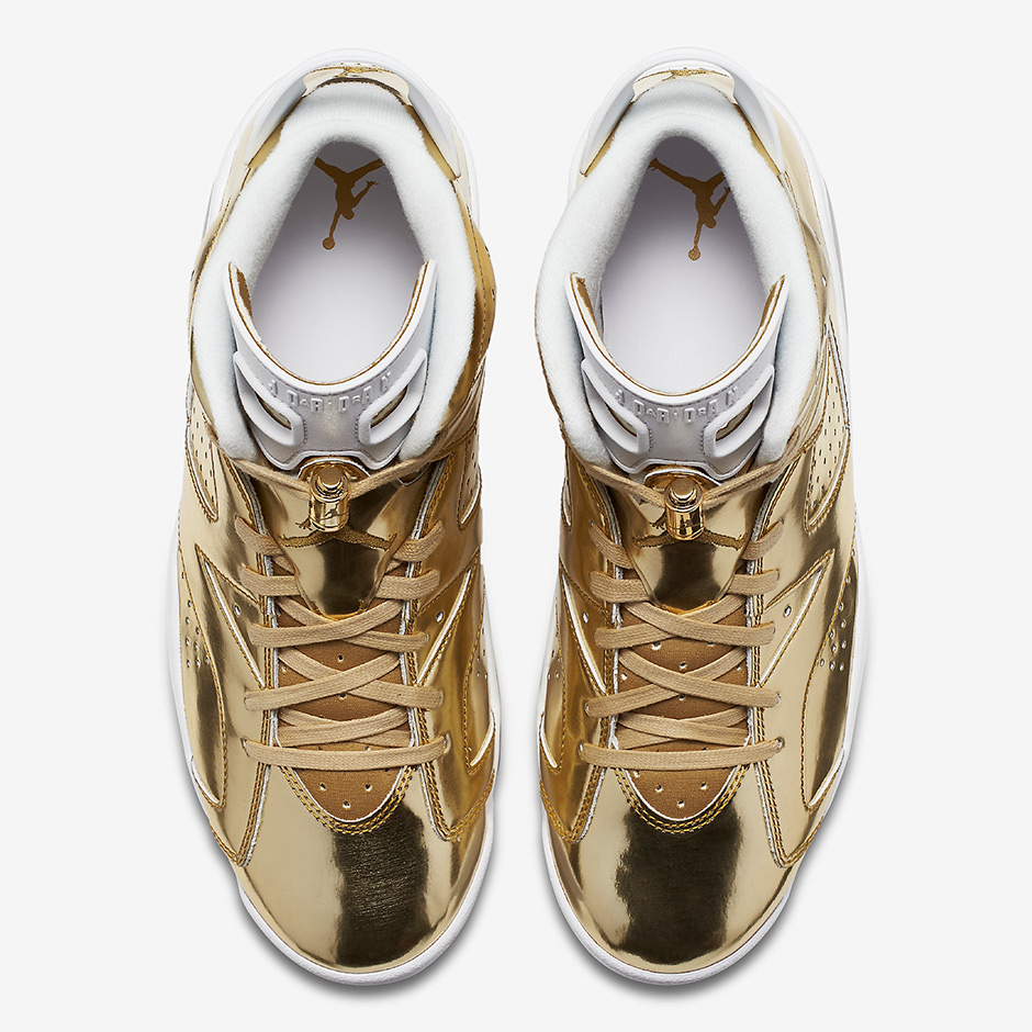 Air Jordan 6 Pinnacle Metallic Gold Release Date - SBD 296c97031