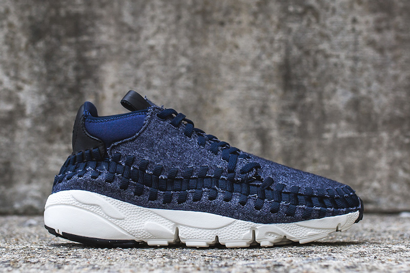 sports shoes 062e1 077d2 Nike Air Footscape Woven Chukka SE Obsidian Denim