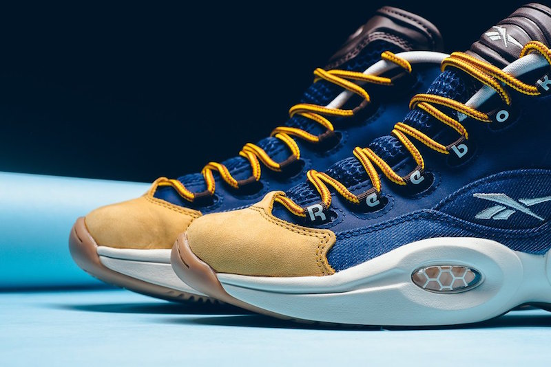 Reebok Question Mid Dress Code Denim Timberland