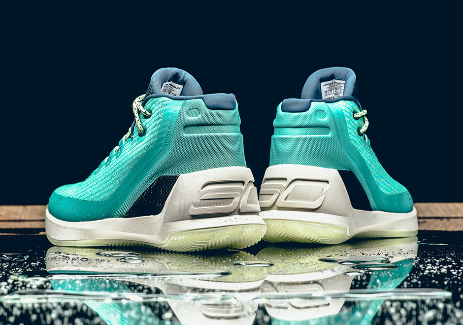 Under Armour Curry 3 Reign Water Release Date