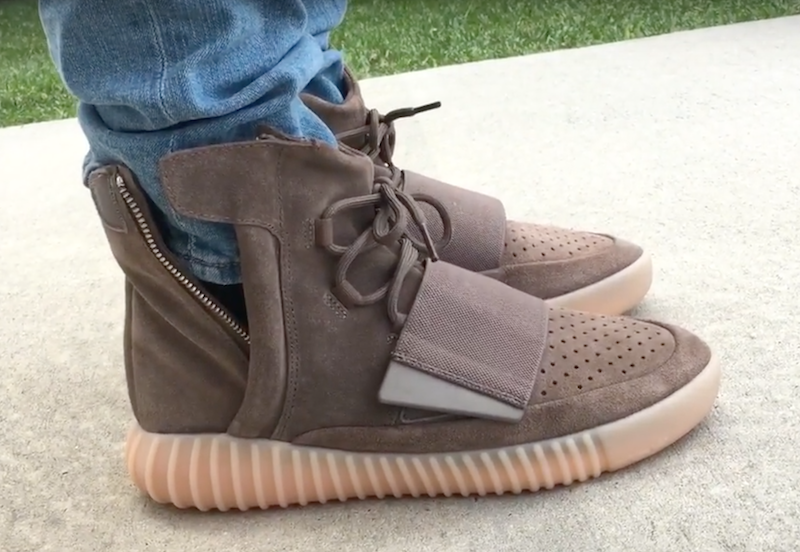 Yeezy 750 Boost Chocolate On-Feet Video Review