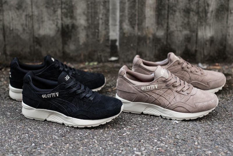 low priced ad646 e5909 ASICS Gel Lyte V Tonal Suede Pack Taupe Black - Sneaker Bar ...