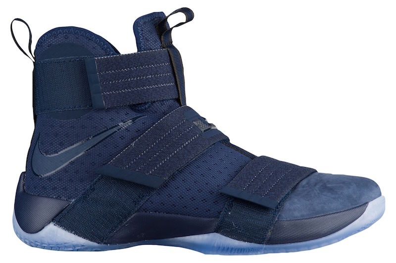 new arrival e3a09 d7e2b Nike LeBron Soldier 10 Midnight Navy Release Date - Sneaker ...