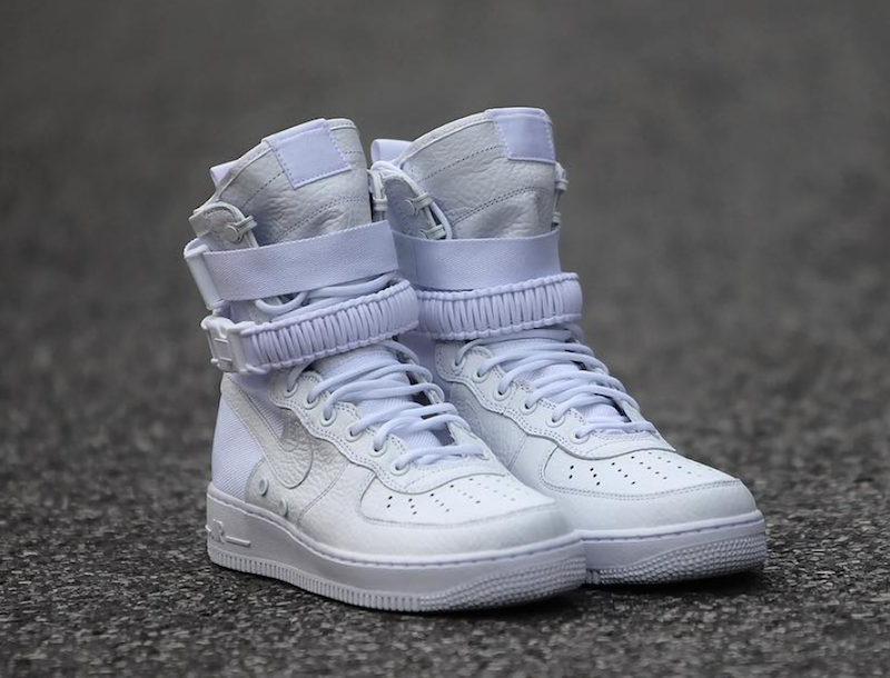 Nike Special Field Air Force 1 Triple White Release Date SBD