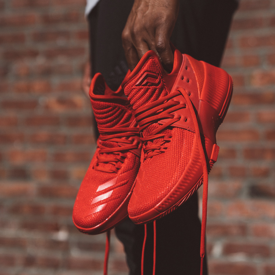 331be8a40 adidas Dame 3 Roots Rip City CNY Release Date - Sneaker Bar Detroit