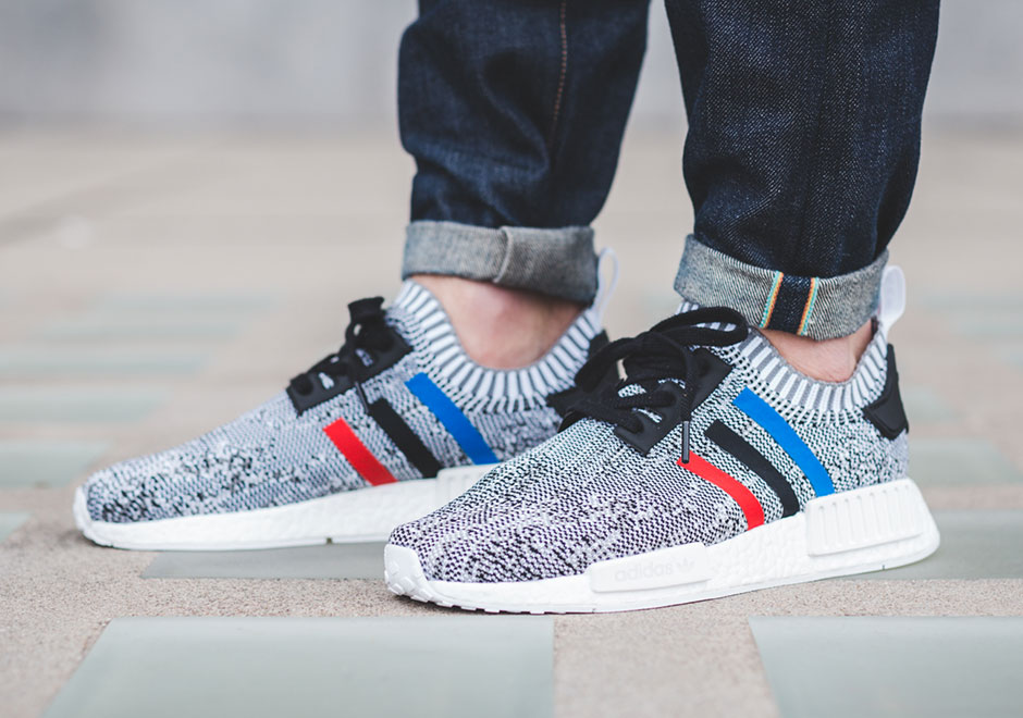 b6c99c18d adidas NMD R1 Primeknit Tri-Color December 26th - Sneaker Bar Detroit