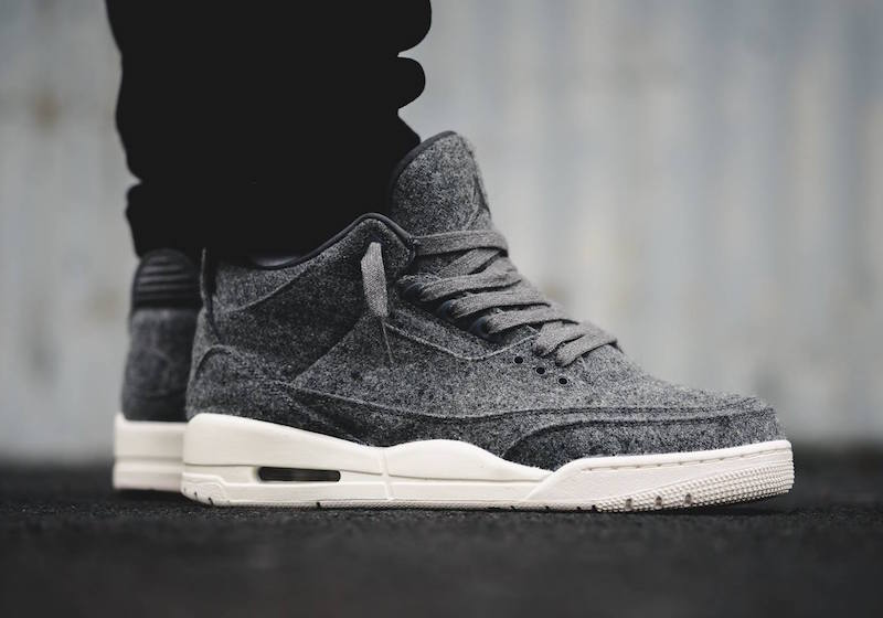 detailed look e3d71 11a9d Air Jordan 3 Wool Available
