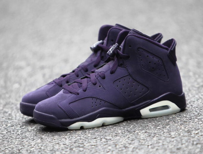 Air Jordan 6 GS Purple New Years Eve