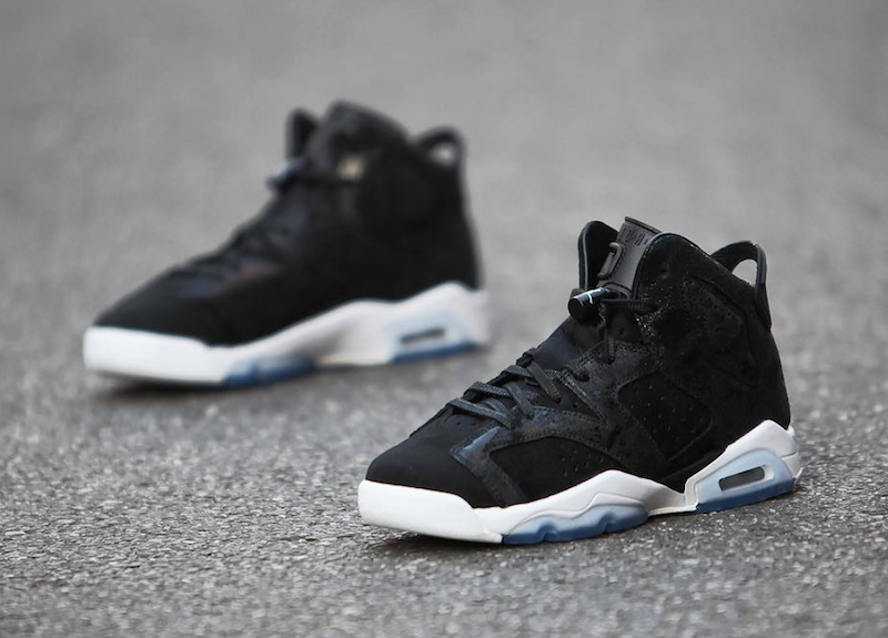 Air Jordan 6 Heiress Black Suede Release Date Sneaker