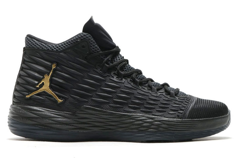 Jordan Melo M13 Black Metallic Gold 881562-004