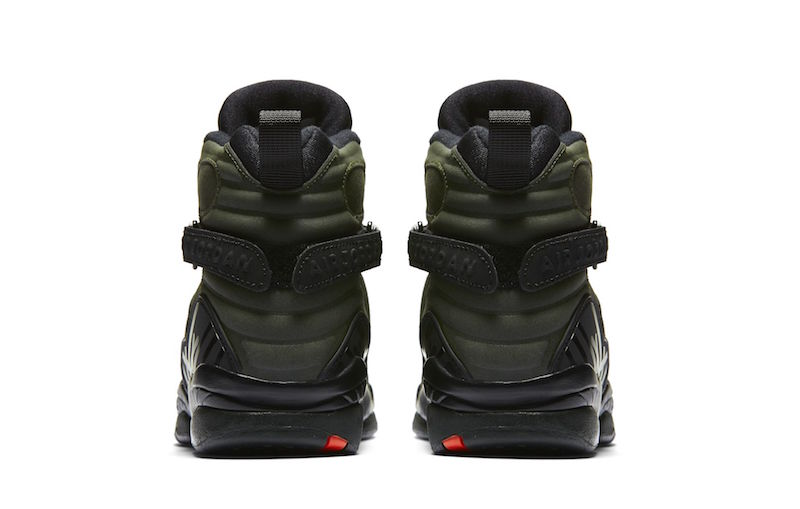 Air Jordan Retro 8 Verdes AO4CL2y