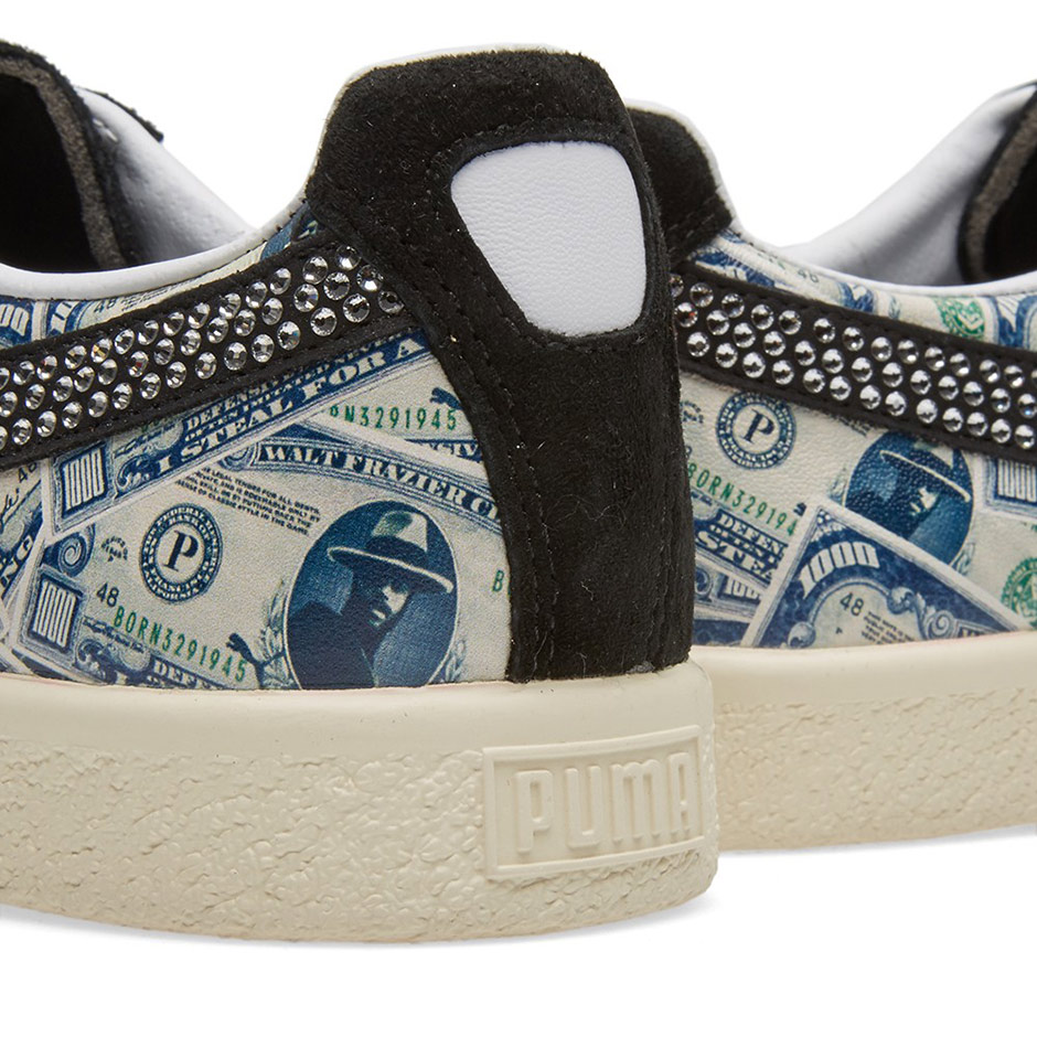 mita sneakers x PUMA Clyde $1,000 Bill