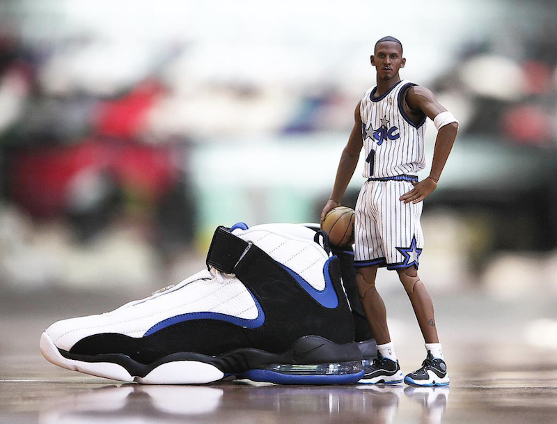 Nike Air Penny 4 OG Orlando Magic Release Date - Sneaker Bar Detroit 5d50b4891